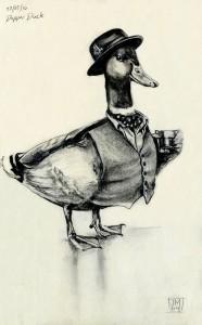 Dapper Duck by Jane Moore